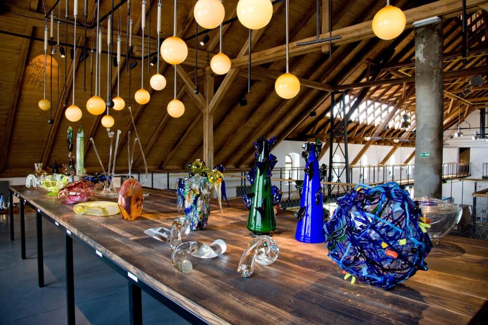 Centrum sklářského umění - Huť František v Sázavě